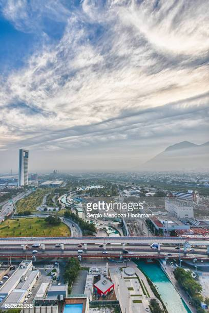 A panoramic image of Monterrey, Mexico