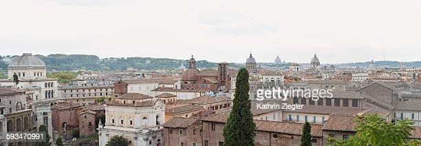 panoramic image of Rome