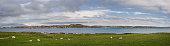 panoramic image isle iona scotland iona