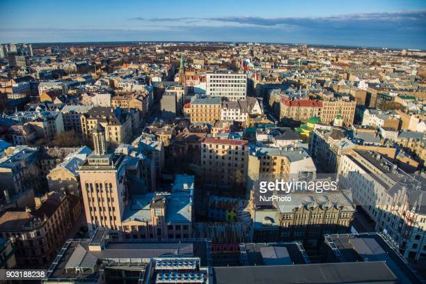 Panoramic images of Riga from Radisson Blu Hotel Riga is the capital of Latvia The largest city in the Baltic states with 640000 inhabitants Riga was...