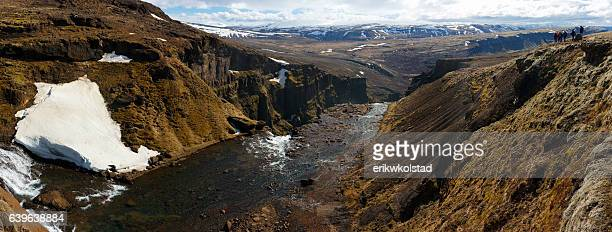 Panoramic Landscape in Iceland