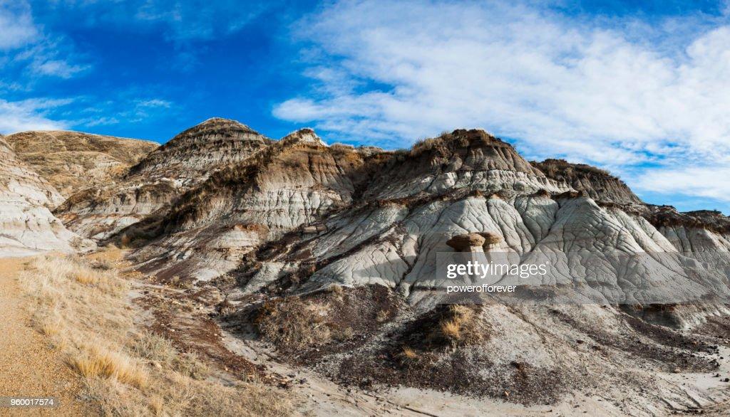 Panorama-Landschaft der kanadischen Badlands, Alberta, Canada : Stock-Foto