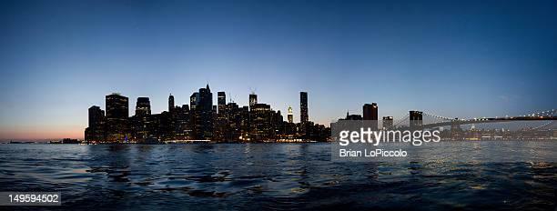 Panoramic Manhattan Skyline