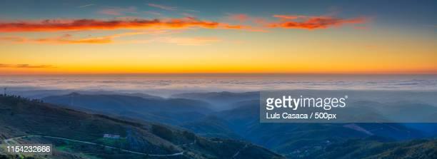 panoramic monchique - モンシケ ストックフォトと画像