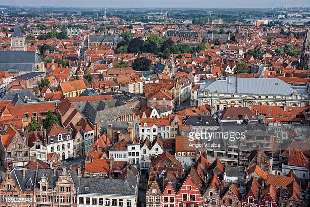 Panoramic of Bruges