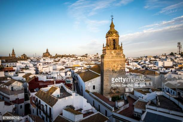 panoramic of carmona - seville stock pictures, royalty-free photos & images