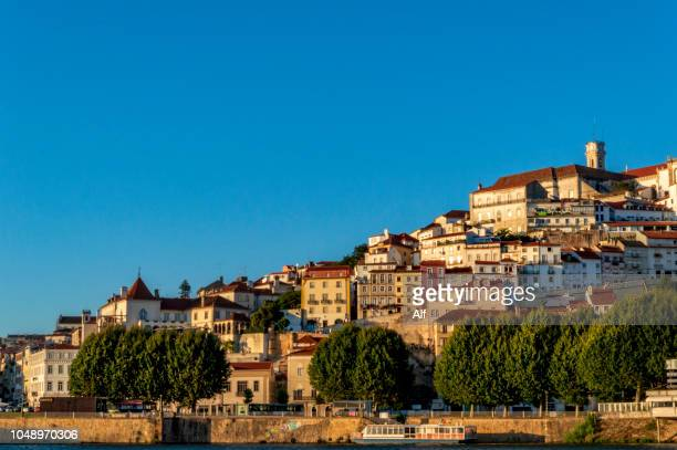 Panoramic of Coimbra, with the university at the top, Coimbra, Portugal
