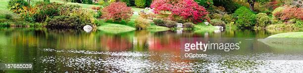 XXXL: Panorama des japanischen Garten