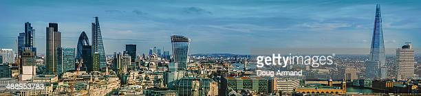 Panoramic of London skyline
