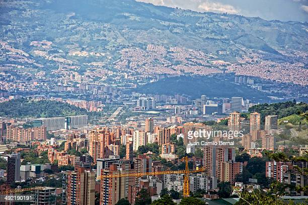 Panoramic of Medellin