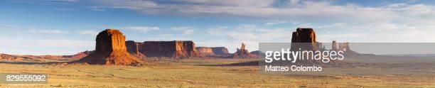 Panoramic of Monument Valley, Arizona, USA