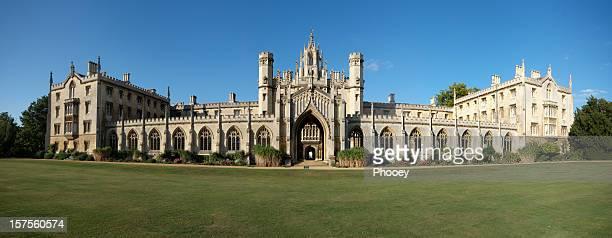 Panoramic of St John's College