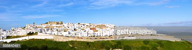 Panoramic of Vejer de la Frontera, in the province
