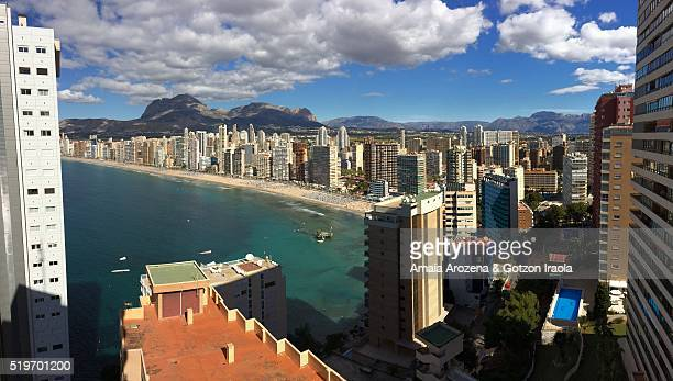 Panoramic photo of Benidorm