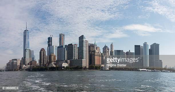 Panoramic picture of Manhattan