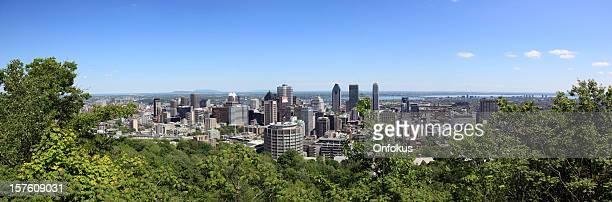 Panorama Bild von Montreal Stadt