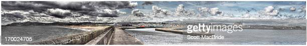panoramic port - scott macbride stock pictures, royalty-free photos & images