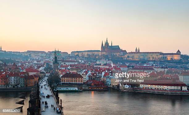 Panoramic Prague View