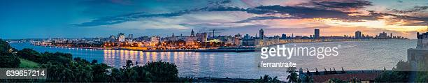 Panoramic Skyline of Havana Cuba