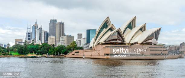 Panoramic Sydney cityscape