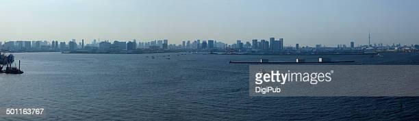 Panoramic Tokyo Skyline