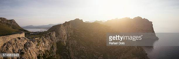 Panoramic view at Cap de Formentor, Mallorca,