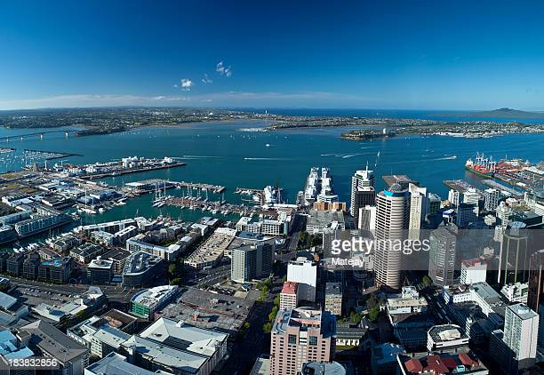 Panoramic view Auckland, New Zealand