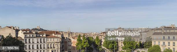 Panoramic view fom Longchamps Palace - Marseille