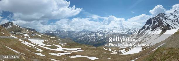 Panoramic view from Grossglockner