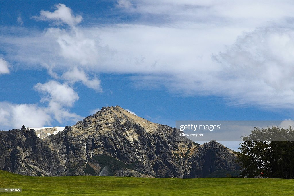 Panoramic view of a mountain, San Carlos De Bariloche, Argentina : Foto de stock