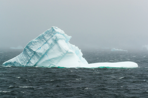 panoramic view of an floating iceberg in the Antarctica - gettyimageskorea
