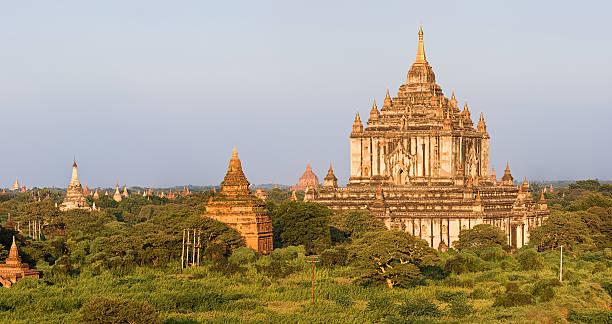Panoramic View Of Ancient Temples In Bagan 35MPix Wall Art
