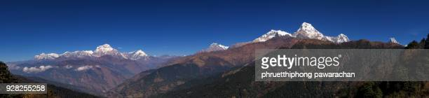 Panoramic view of Annapurna range.