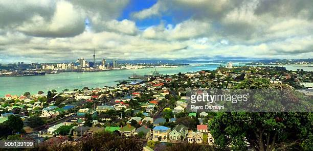 Panoramic view of Auckland