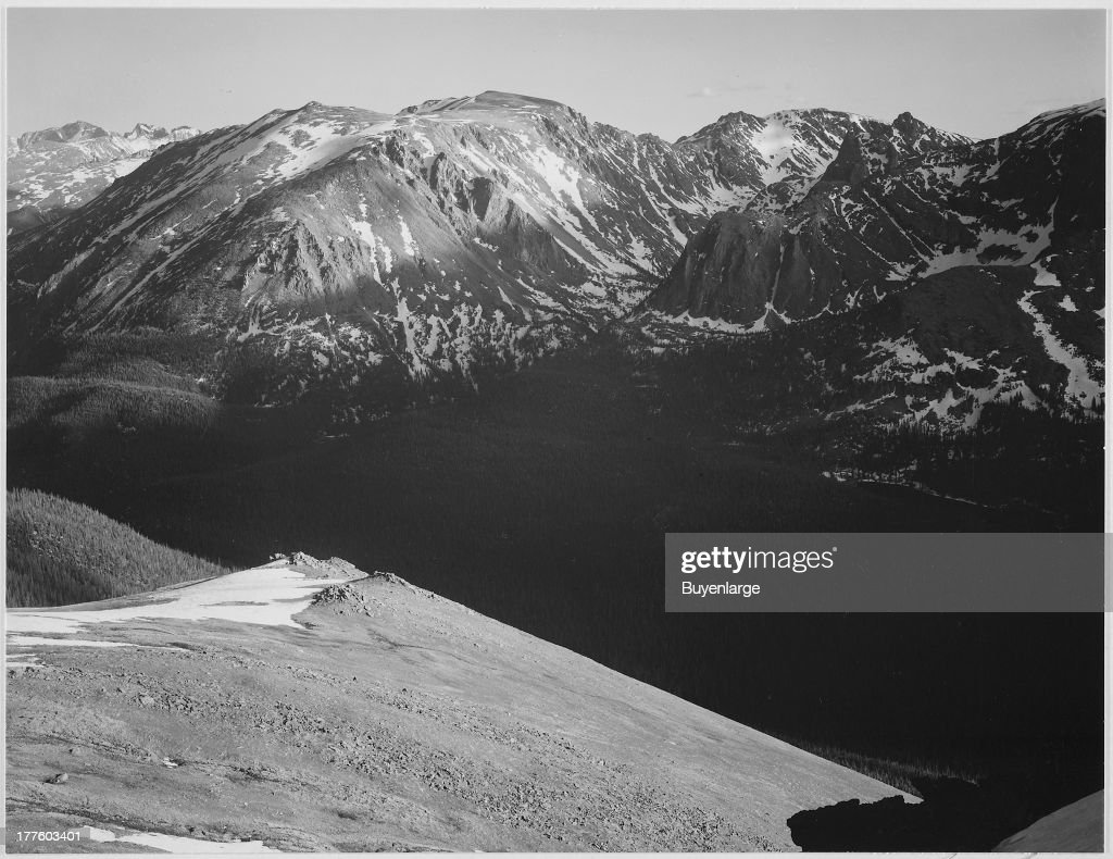 In Rocky Mountain National Park : News Photo