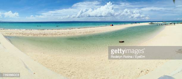 panoramic view of beach - rotina stock photos and pictures