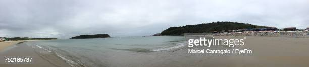 Panoramic View Of Beach