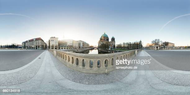 360° Panoramic View of Berlin Cathedral and Museum Island