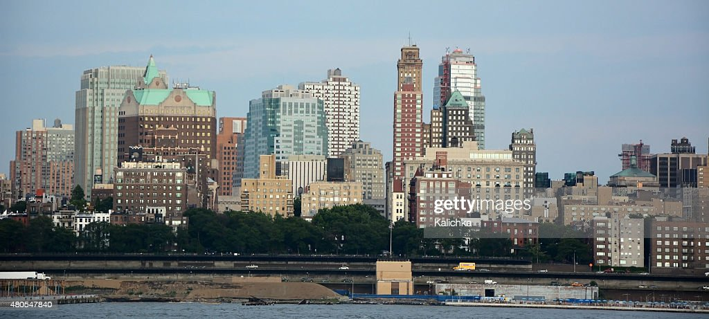 Panoramic view of Brooklyn. New York city, America : Stock Photo