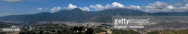 Panoramic view of Caracas city