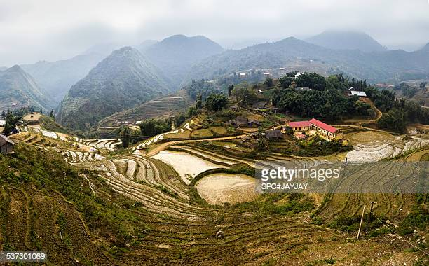 Panoramic View of Cat Cat Village in Sapa