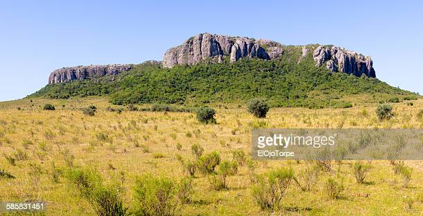 Panoramic view of Cerro Arequita, Lavalleja