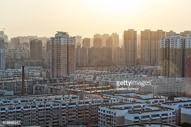 Panoramic view of Chinese metropolis Shenyang