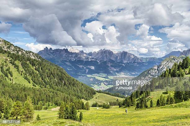 Panoramic view of Costabella Mountains - Trentino - Italy