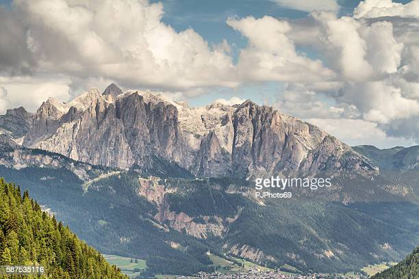panoramic view of costabella mountains - trentino - italy - pjphoto69 - fotografias e filmes do acervo
