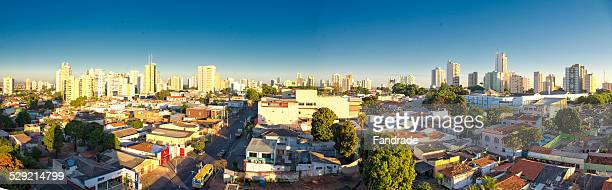 panoramic view of cuiaba brazil - cuiabá stock photos and pictures