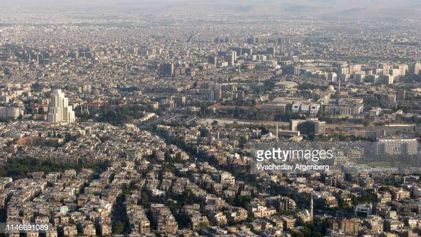panoramic view of damascus - argenberg stock pictures, royalty-free photos & images