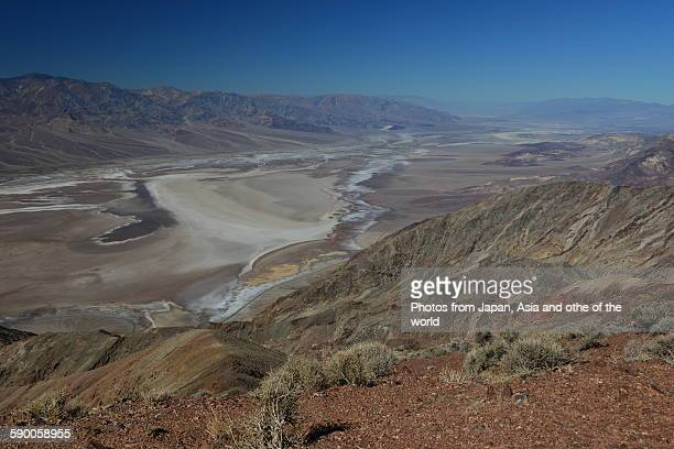 Panoramic view of Death Valley, Calif