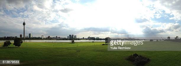 Panoramic view of Düsseldorf