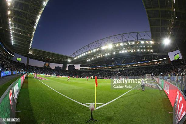 Panoramic View of Estadio do Dragao before the start of the Primeira Liga match between FC Porto and SL Benfica at Estadio do Dragao on November 6...